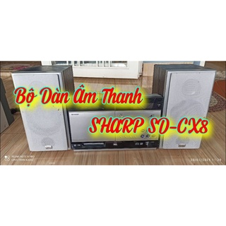 Bộ dàn âm thanh SHARP SD-CX8 thumbnail