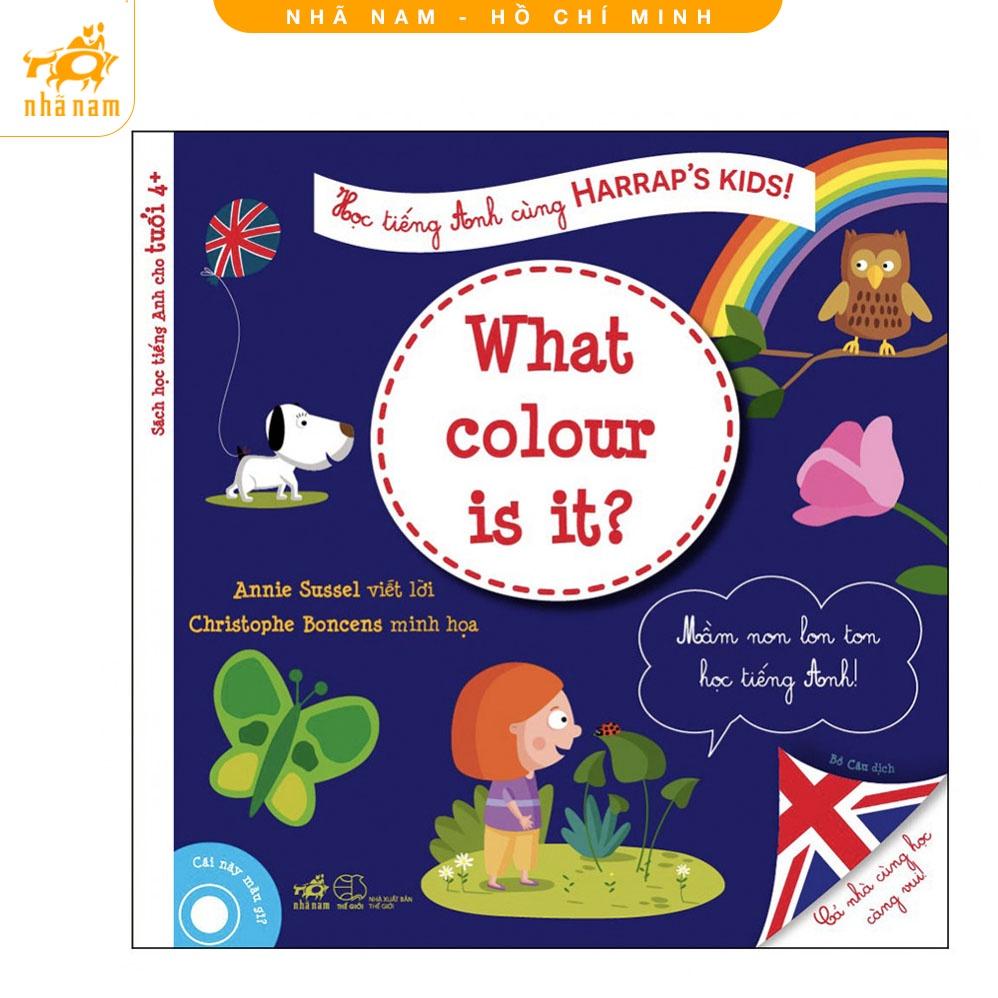 Sách - Học Tiếng Anh Cùng Harraps Kids - Cái này màu gì? (Nhã Nam HCM)
