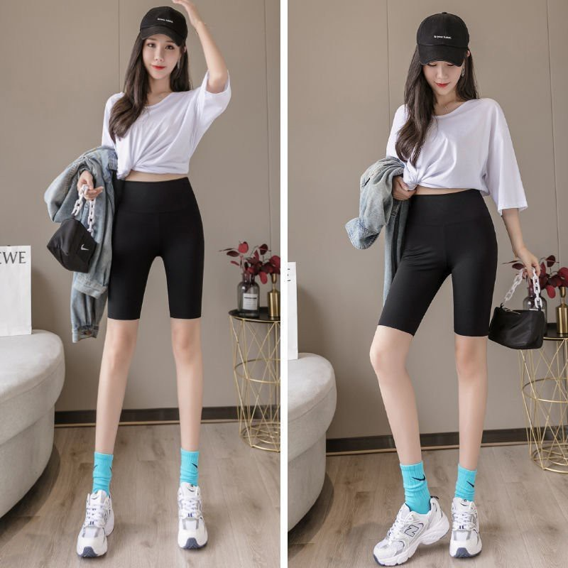 Quần legging lửng thái; Quần legging ngố đùi thái cạp chun siêu mịn