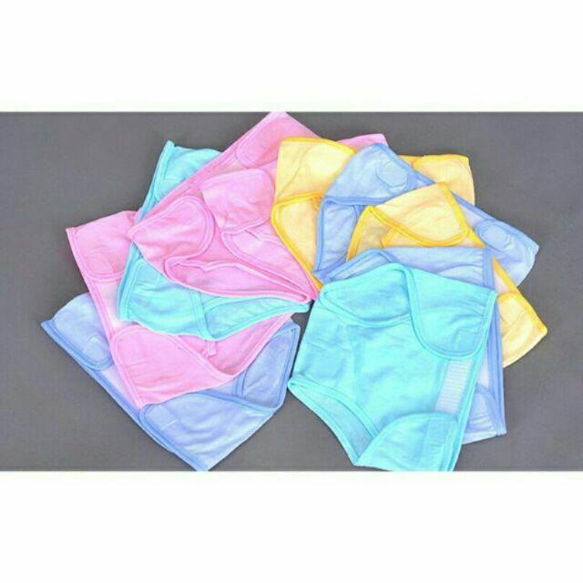 Quần đóng bỉm sơ sinh chất liệu 100% cotton size 1,2,3 cho bé 3 đến 8 kg
