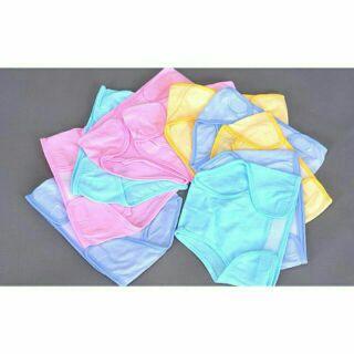 Quần đóng bỉm sơ sinh chất liệu 100% cotton size 1,2,3 cho bé 3 đến 8 kg thumbnail