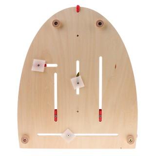 [ToyfulCabin] Wooden Calendar Board Teaching Date Season Weekdays Children Early Cognitive