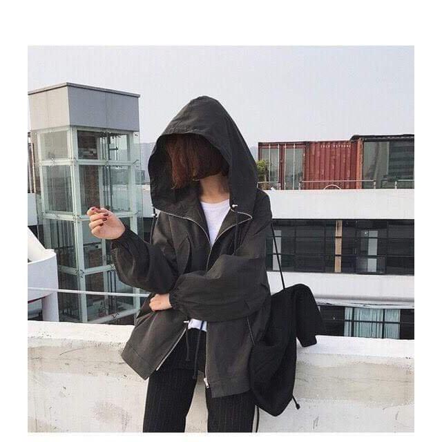 Áo khoác dù nam nữ thu đông có mũ nón dài tay khóa kéo phối dây rút eo phom suông rộng chuẩn đẹp cá tính giá rẻ bigsize - 23041457 , 1723128996 , 322_1723128996 , 135000 , Ao-khoac-du-nam-nu-thu-dong-co-mu-non-dai-tay-khoa-keo-phoi-day-rut-eo-phom-suong-rong-chuan-dep-ca-tinh-gia-re-bigsize-322_1723128996 , shopee.vn , Áo khoác dù nam nữ thu đông có mũ nón dài tay khóa