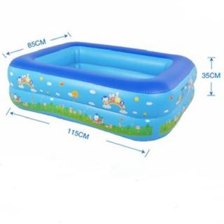 Bể Bơi 1m2 Kích Thước 115cmx85cmx35cm