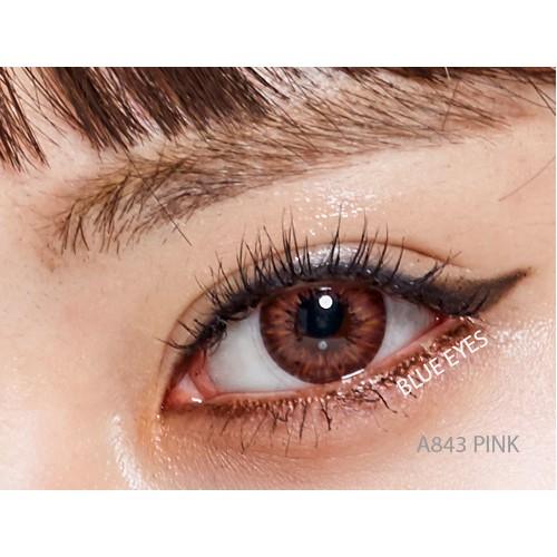Lens mắt cao cấp Premium Silicone Hydrogel A843 GREEN ( Olens, Blue Eyes Lens Viet Nam, Lens Town )
