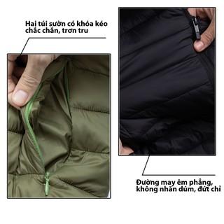 Hình ảnh Áo Khoác Nam 5S (4 màu), Chần Bông Cao Cấp, Siêu Nhẹ, Siêu Ấm, Phom Ôm Trẻ Trung-4