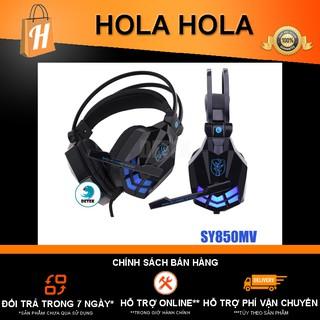 [Mã ELFLASH5 giảm 20K đơn 50K] Tai nghe game thủ Soyto SY850MV có Microphone có đèn LED
