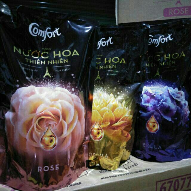 Comfort hương nước hoa thiên nhiên 1.6L , chiết xuất hoa pháp.