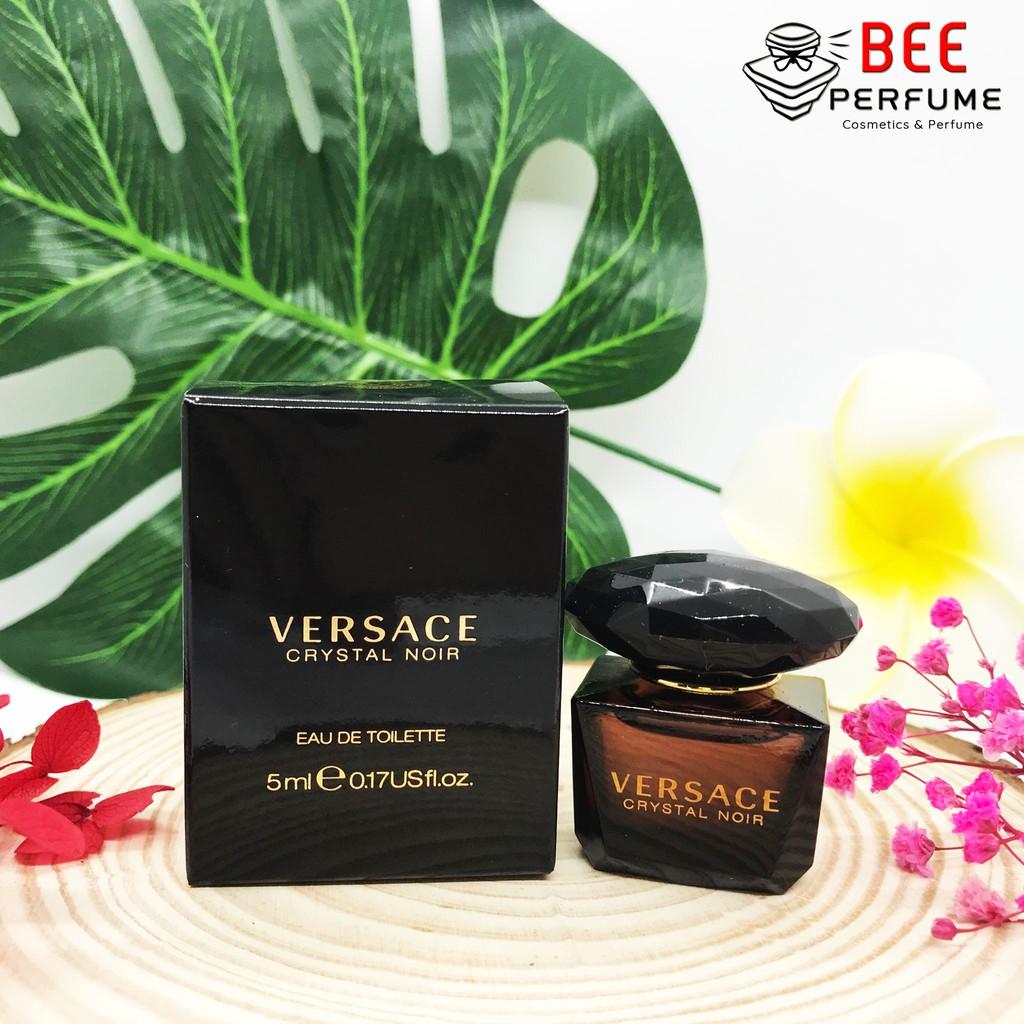 Nước Hoa Mini Versace Crystal Noir 5ml EDT cho nữ chính hãng siêu thơm