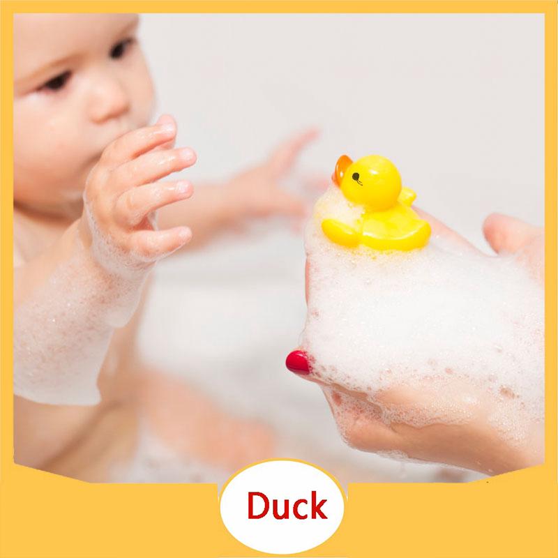 Vịt đồ chơi bằng cao su thả bồn tắm vui nhộn dành cho bé
