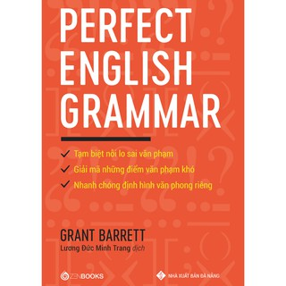 Sách - Perfect English Grammar - Zenbooks thumbnail