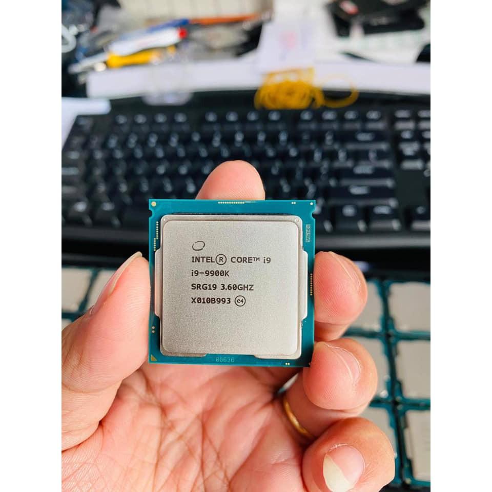 CPU INTEL CORE I9 9900K TRAY THÁO MÁY CPU ĐẸP | Shopee Việt Nam