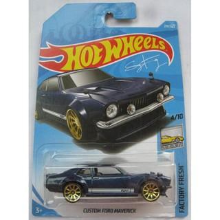 Xe mô hình Hot Wheels Custom Ford Maverick FJY18