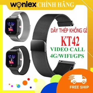 Đồng hồ định vị WONLEX KT42 [ ] gọi video call 4G WIFI định vị WIFI/GPS chịu nước ip67