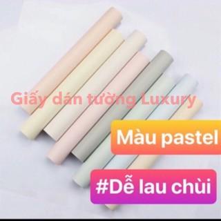 Giấy dán tường sẵn keo màu be màu trơn màu pastel sẵn keo cuộn dài 10m khổ 45cm giấy-dán-tường giay-dan-tuong-san-keo