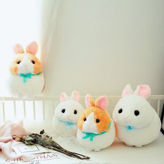 BOBORA Cute Soft Baby Kids Plush Toy Little Rabbit Doll Stuffed Animal Plush Toy
