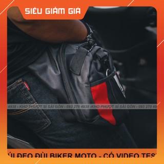 HOT- Túi đeo đùi đi xe máy Rambo Biker form Dainese tiện dụng - Túi đeo chéo đùi dụng đi phượt thumbnail