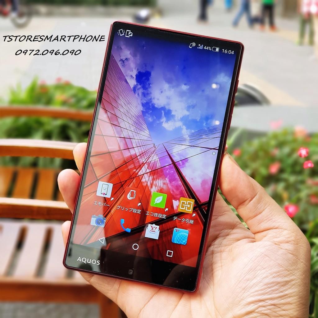điện thoại xách tay Nhật Sharp 401SH đã unlock full tiếng Việt-tặng