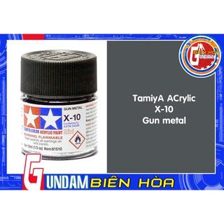 SƠn chuyên dụng cho mô hình gundam -Tamiya acrylic X-10 Gun metal