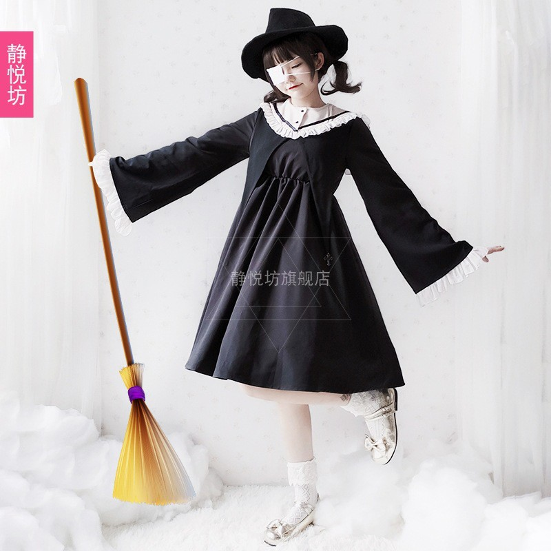 Đầm Phù Thủy Hóa Trang Halloween Cho Nữ