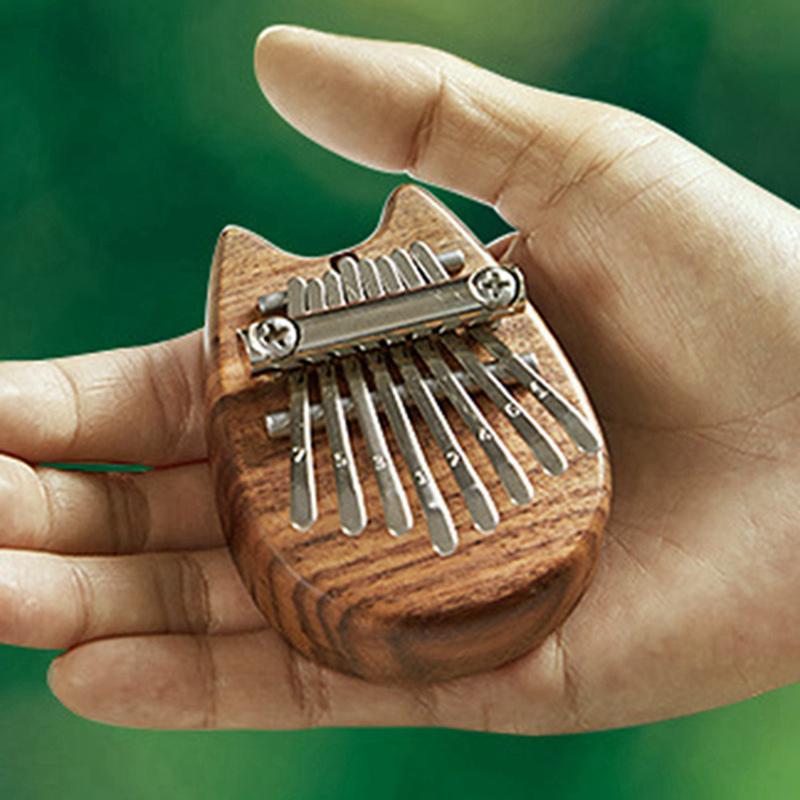 Bộ Nhạc Cụ Đàn Kalimba 8 Phím Chuyên Dụng