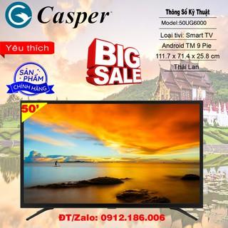 Smart Tivi Casper 50 inch 4K UHD 50UG5000 – Hàng chính hãng