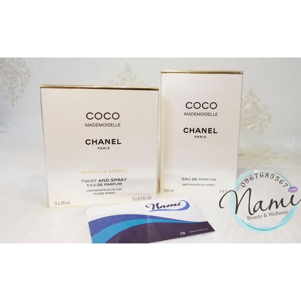 [Chanel] Set 3 chai Nước Hoa Chanel Coco Mademoiselle 3 x 20ml