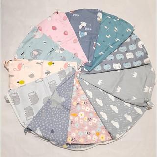 (Shop mới giá tương tác) Vỏ gối chống trào COTTON LỤA Hàn quốc, áo vỏ gối chống ọc sữa sơ sinh thay thế – chọn mẫu