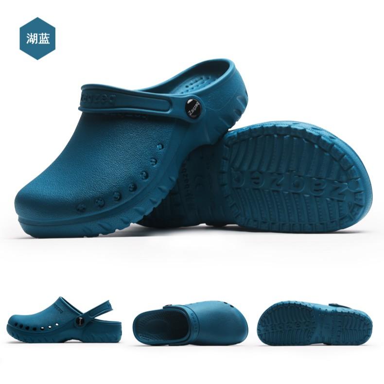 Giày phẫu  thuật- Giày y tế nam nữ- dép đi trong bệnh viện, phòng khám- dép chống trượt - dép đi trong nhà có quai