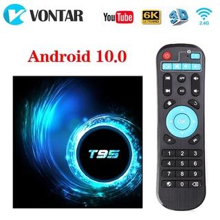 đầu thu android tivi box T95 chính hãng 100%, tích hợp wifi kép+bluetooth+ các chương trình giải trí đã được cài sẵn thumbnail