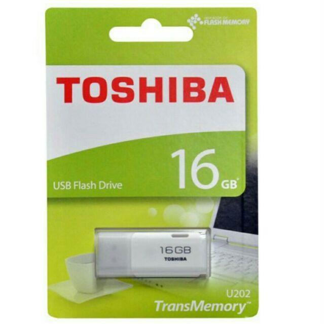 USB TOSHIBA 16G CHÍNH HÃNG Giá chỉ 175.000₫