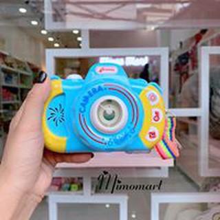 Máy ảnh thổi bong bóng cho bé hiện đại