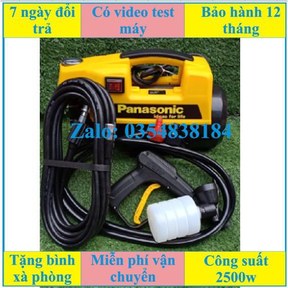 Máy rửa xe mini PANASONIC áp lực cao hàng công ty