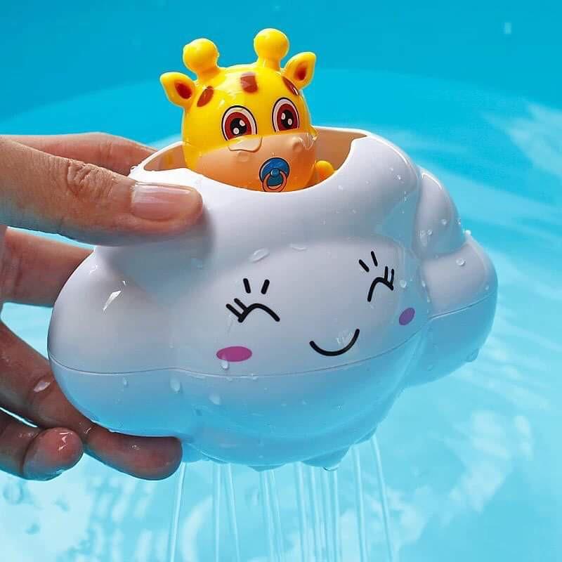 Đồ chơi nhà tắm đám mây phun nước