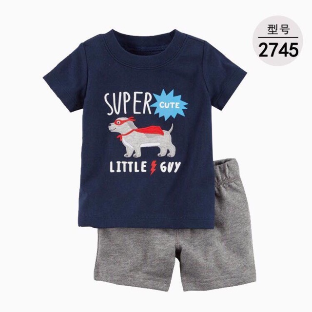 Bộ bé trai Super cute Carter - 3136642 , 938017869 , 322_938017869 , 150000 , Bo-be-trai-Super-cute-Carter-322_938017869 , shopee.vn , Bộ bé trai Super cute Carter
