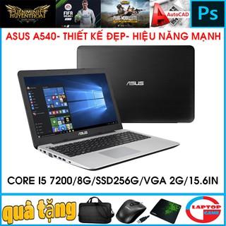 Yêu Thích(asus gaming + đồ họa) core i5 7200U/8GB/SSD256/VGA RỜI 2G, laptop cũ chơi game cơ bản đồ họa