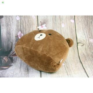 [CHUẨN]Gối đầu Oenpe hình gấu nâu brown siêu đáng yêu, chất liệu cao cấp