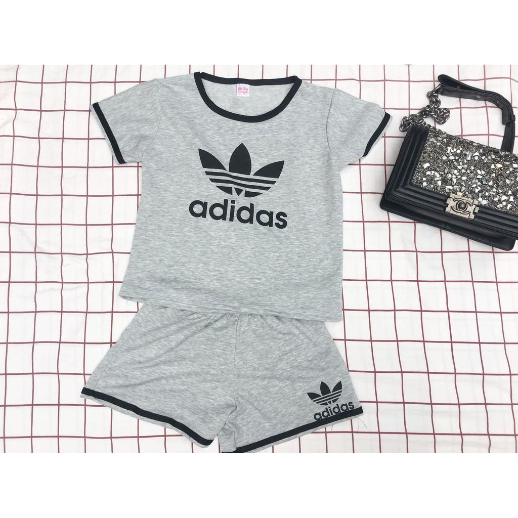 Bộ quần áo cộc tay nữ adidas (Bộ thể thao nữ, bộ cộc tay mặc hè nữ) - 2932179 , 1206958541 , 322_1206958541 , 81900 , Bo-quan-ao-coc-tay-nu-adidas-Bo-the-thao-nu-bo-coc-tay-mac-he-nu-322_1206958541 , shopee.vn , Bộ quần áo cộc tay nữ adidas (Bộ thể thao nữ, bộ cộc tay mặc hè nữ)