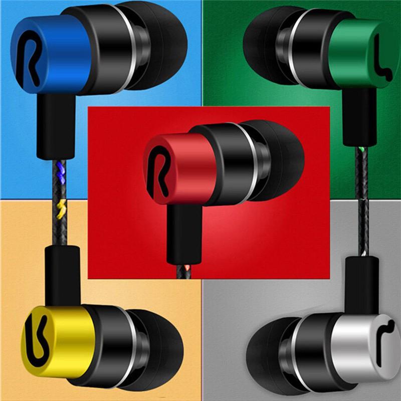 Tai nghe nhét tai 3.5mm âm thanh stereo có mic kiểu dáng thời trang cho điện thoại Samsung