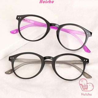 💍HS💄 +1.00~+4.00 Reading Glasses High-definition Eyeglasses Presbyopic Glasses Portable Ultralight Spring Hinge Unisex PC Frames/Multicolor