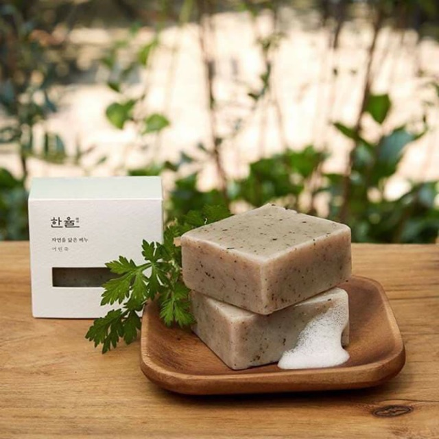 Xà phòng rửa mặt Hanyul Natural Oil Soap