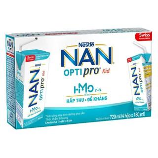 Sữa nước pha sẵn Nan Optipro Kid 180ml- lốc 4 hộp thumbnail