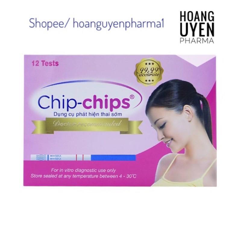 Que thử thai Chip-chips (Chip chips) nhập khẩu