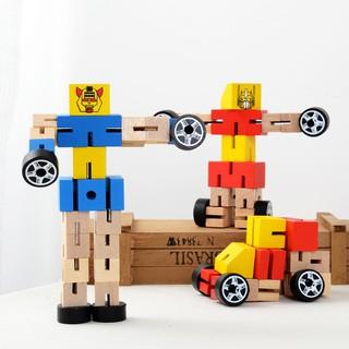 [0163] Robot gỗ biến hình transformer
