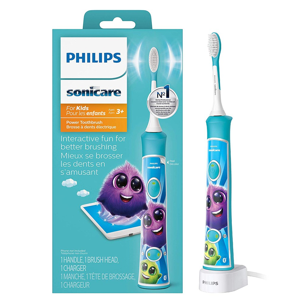 Bàn chải điện Philips Sonicare cho trẻ em HX6321