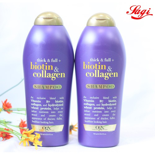 CẶP Dầu Gội Thick And Full Biotin Collagen Organix Của Mỹ 750ML - 3405888 , 627896954 , 322_627896954 , 920000 , CAP-Dau-Goi-Thick-And-Full-Biotin-Collagen-Organix-Cua-My-750ML-322_627896954 , shopee.vn , CẶP Dầu Gội Thick And Full Biotin Collagen Organix Của Mỹ 750ML