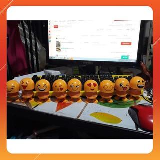 Chuyên sỉ thú nhún emoji – con lắc lò so loại 1 Loại 1