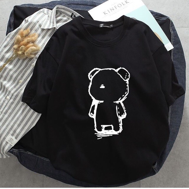[Mã WASEPRN hoàn 20% xu đơn 99k] Áo thun tay lỡ gấu cô đơn