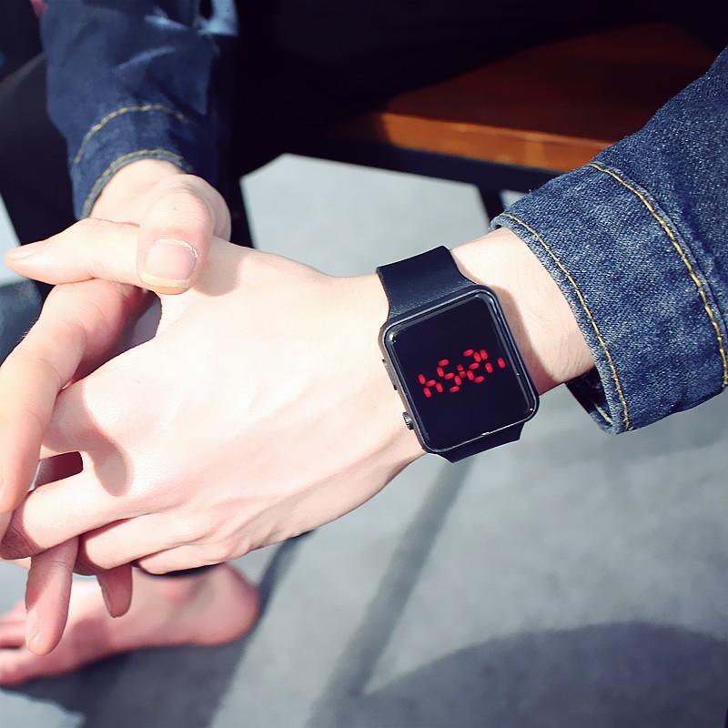 (Giá sỉ) Đồng hồ thời trang nam nữ Led phong cách Hàn