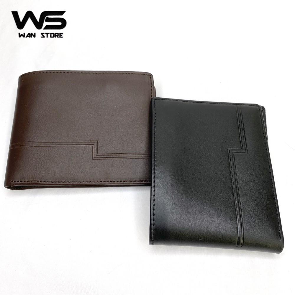 Bóp ví nam da bò WAN cao cấp kiểu dáng ngang W08 - Kèm hộp sang trọng (có phiếu bảo hành) - Wan Store